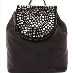 Vince Camuto Black studded backpack NWOT